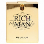 Blue up Paris Rich Man for men, Toaletná voda 100ml (Alternatíva parfému Paco Rabanne 1 million) - Zlata edicia