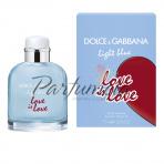 Dolce Gabbana Light Blue Love is Love, Toaletná voda 75ml