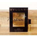 Bvlgari Man Black Orient, Vzorka vone