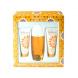 Elizabeth Arden Sunflowers, Edt 100ml + 100ml tělové mléko + 100ml tělový čistící krém