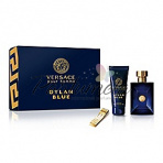 Versace Pour Homme Dylan Blue, Edt 100ml + 100ml SG + Versace Money Clip
