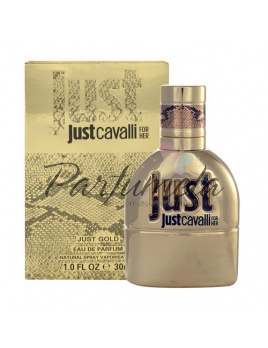 Roberto Cavalli Just Cavalli Gold for Her, Parfumovaná voda 50ml