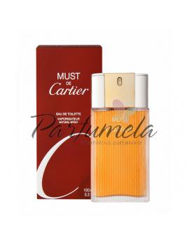 Cartier Must, Toaletná voda 100ml