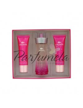 Lacoste Touch of Pink, Edt 50ml + 50ml tělové mléko + 50ml sprchový gel