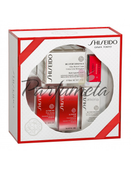 Shiseido Bio-Performance Glow Revival krém 50ml + oko + oko c5 + conc.10 + rouge2.5