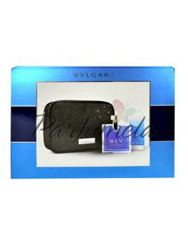 Bvlgari BLV, Edt 100ml + 75ml sprchový gel + kosmetická taška