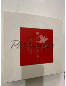 Prázdna Krabica Bvlgari Eau Parfumée au Thé Rouge, Rozmery: 26cm x 26cm x 8cm
