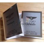 Bentley Momentum, Vzorka vône EDT