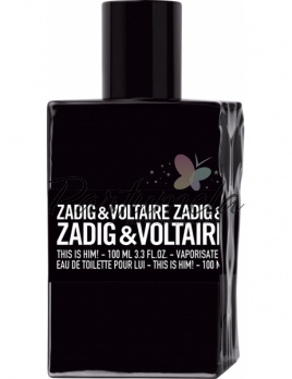 Zadig & Voltaire This is Him!, Toaletná voda 100ml, Tester