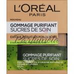 L'Oréal Paris Gommage Purifiant Sucres De Soin, Pleťový píling 50ml